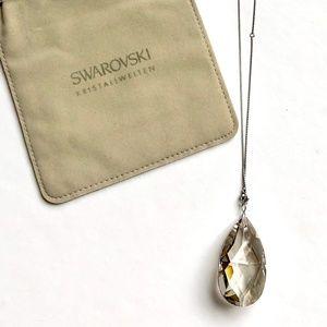 "NWOT Swarovski Pendant 2"" Crystal"